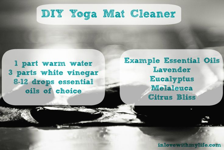 yoga mat cleaner doterra pinterest. Black Bedroom Furniture Sets. Home Design Ideas