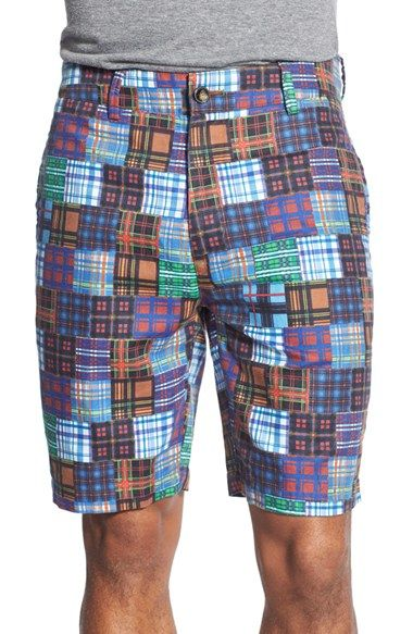 Robert Graham 'Flowrider' Patchwork Print Shorts