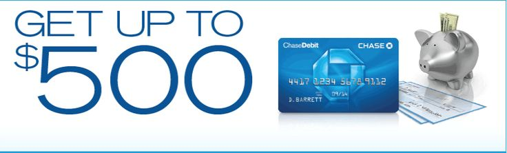 Want a $500 Chase Bank coupon code? Repin this and message me to get yours.