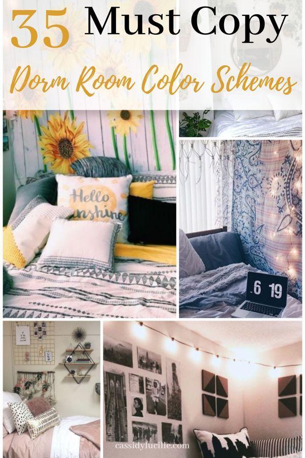 10 Best Dorm Color Schemes For Your Freshman Dorm Room | Dorm ...
