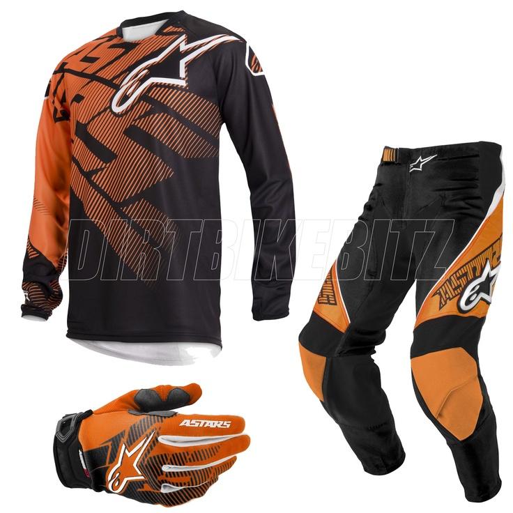 2013 Alpinestars Racer Motocross Kit Combo - Orange - 2013 Alpinestars Motocross Kit Combos - 2013 Alpinestars Motocross Kit