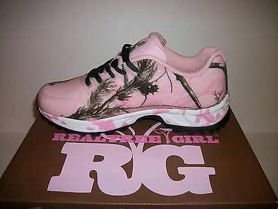 Realtree+Pink+Camo+Tennis+Shoes | Womens Realtree Girl Pink Camo Mamba Shoes Size 7 Sneaker Hunting ...