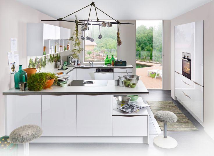 Las 25 mejores ideas sobre Küche Mit Geräten en Pinterest - küchenzeile 220 cm mit elektrogeräten