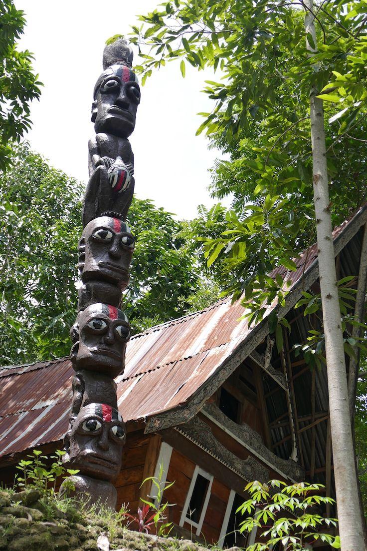 Toba See, Zeugnisse der Megalithkultur in Ambarita