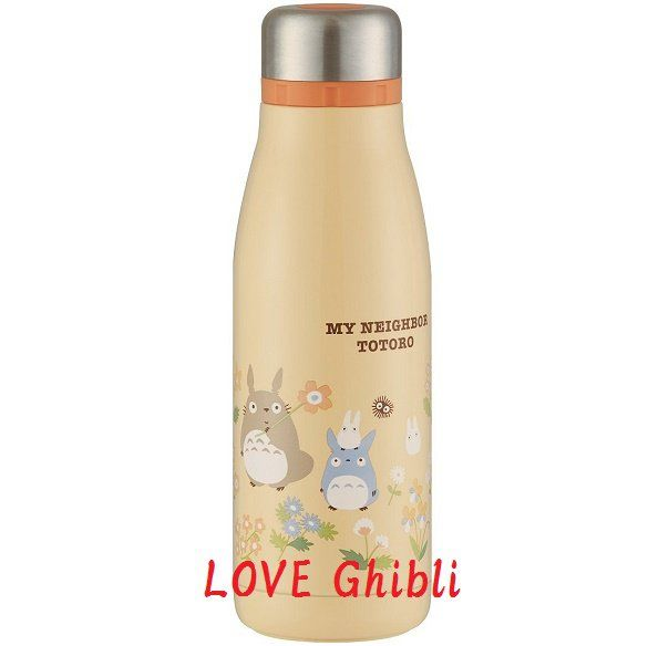 Thermal+Bottle+Vacuum+Flask+400ml+-+Stainless+Steel+Double+Wall+Vacuum+-+2+Mouth+-+Totoro+2016+(new)