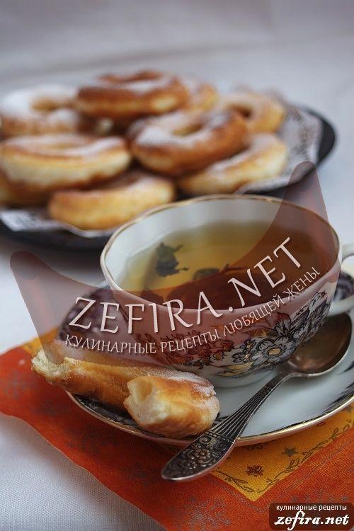 Рецепт воздушных пончиков на кефире-домашние рецепты с фото