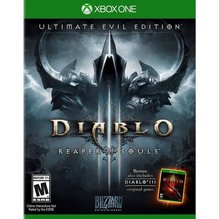 Game Diablo 3 - Reaper Of Souls - Xbox One