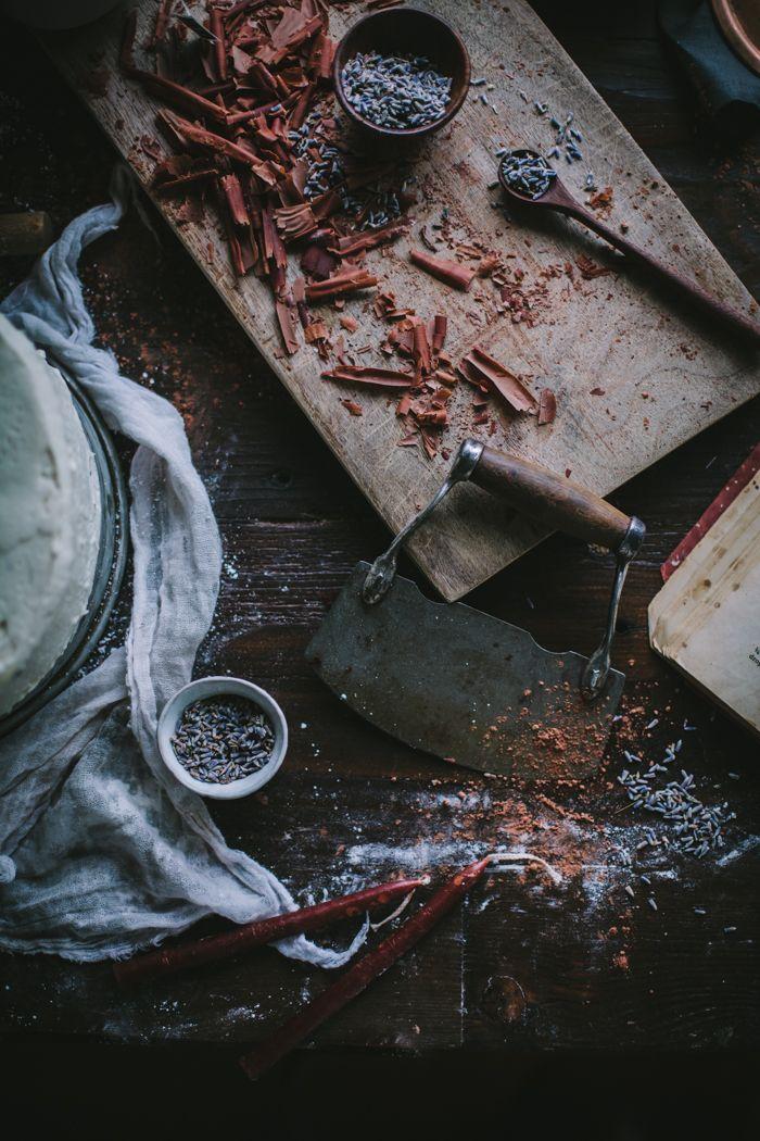 Dark Chocolate Cake With Lavender Ganache + A Portland Workshop: