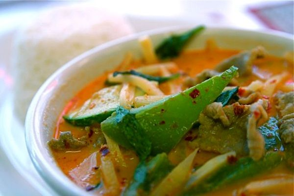 Vegan Thai Red Curry Soup - curry that's made for sipping!