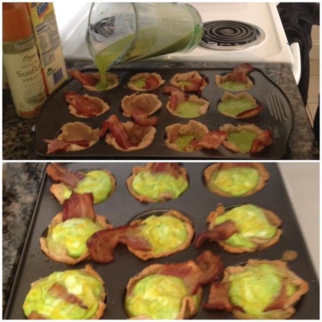 "Green eggs & ""ham"" aka bacon for st pattys day!: St. Patti Day, Crafty Food, Bacon Bacon, Food Idea, Hams Thi, St. Pattys, Green Eggs, Aka Bacon, St. Patrick'S"