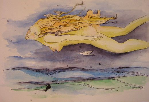 Nocą - from http://www.touchofart.eu/Dorota-Kedzierska/dked32-Noca/
