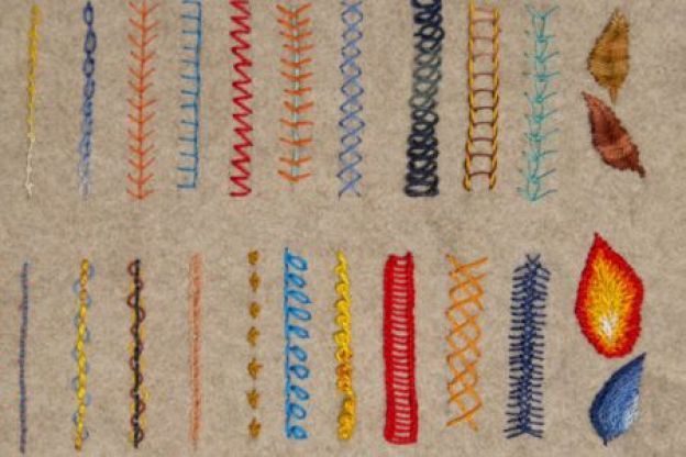 Types Of Hand Stitches Types Of Embroidery Stitches Types Of Stitches Sewing Embroidery Craft