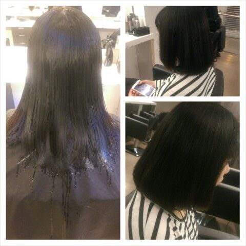 Nice and solid haircut , 4 inches off