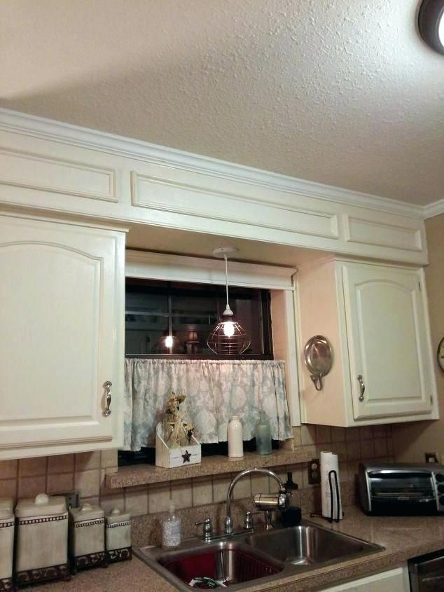 New Soffit Decorating Ideas Google Search Kitchen Soffit Above Kitchen Cabinets Kitchen Renovation