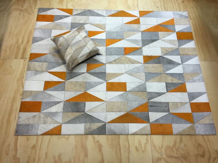 Tapete Casso  - Rug Casso. Tapetes en Cuero. Patchwork leather rug. Diseños exclusivos