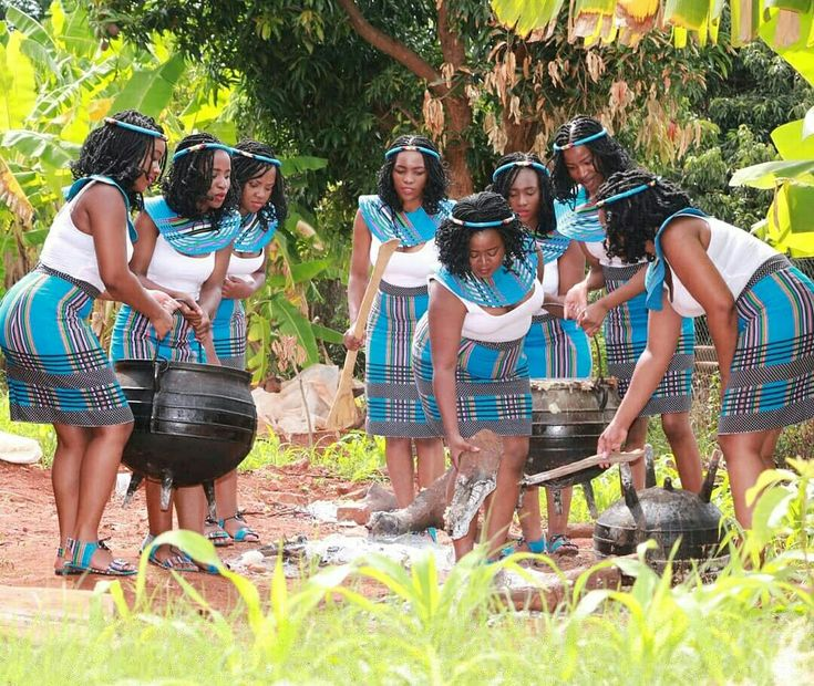 Modern Day Venda Girls Dressed By Elicks Couture Venda Traditional Attire In 2019 African