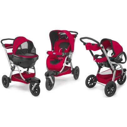 trio activ3 red wave chicco baby strollers gadgets. Black Bedroom Furniture Sets. Home Design Ideas