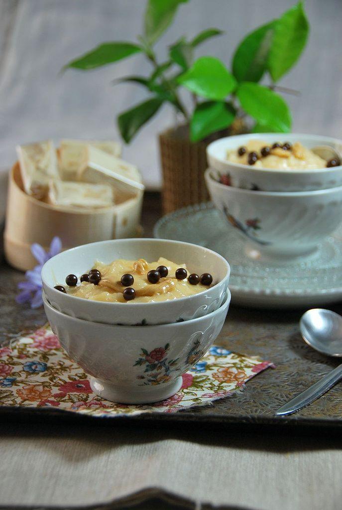riz au lait au nougat // rice pudding w/ nougat