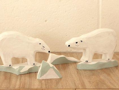 Polar bear and iceberg set