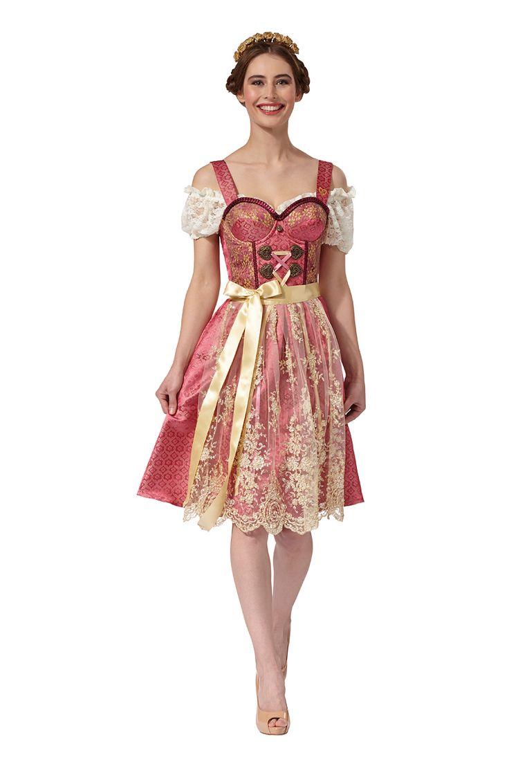 Dieses Modell vereint feminine Farben mit persischen Akzenten. Ideal für einen selbstbewussten aristokratischenAuftritt. Auf hellen Hauttönen kommt Dirndl Stephanie besonders stark zum Ausdruck. Die Dirndl von ENA...