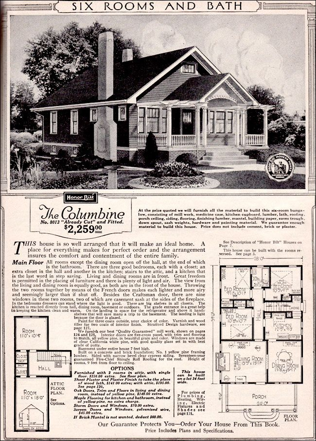 235 best sears kit homes images on pinterest vintage for House plan catalogs free