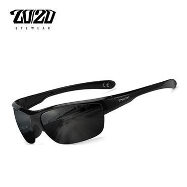 9881a6108ee 20 20 Brand Design Classic Black Polarized Sunglasses Men Vintage Square  Lens Sun Glasses Male