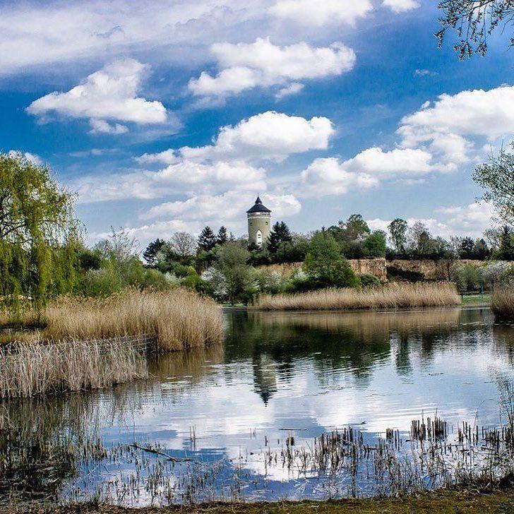 """""""Der Ziegeleipark - wie sein Name schon sagt, wurde der 15 Hektar große Park auf dem Gelände einer…"""""""