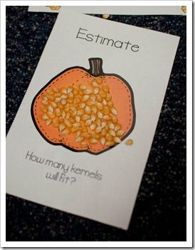 Quantitative estimation at it's best! How many kernels will fit? Download the images for this great activity.