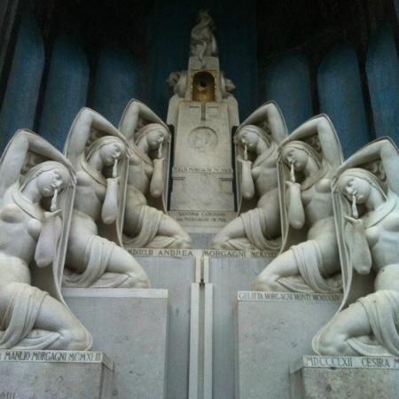 una delle tombe più celebri - Foto di Cimitero Monumentale, Milano ...