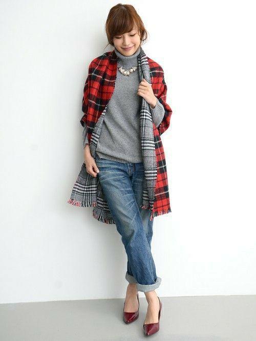 【2015】秋冬の必須アイテム♡ストールの巻き方と月別コーデ | 美人部
