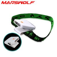 Cap clip light+headband+USB charging line  inductive Camping Fishing Hiking multifunctional Headlight  free shipping