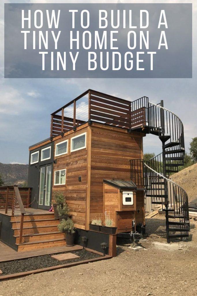 Wie man ein kleines Haus mit einem kleinen Budget baut