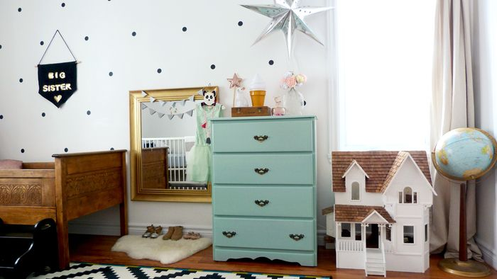 Babiekins Magazine|Sleepykins//Mini Boheme:Lily and Jules's Bedroom