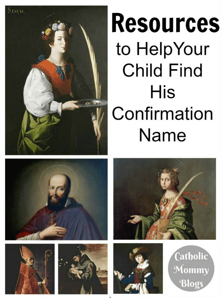 Does your child need to choose a Confirmation name? Here are resources to narrow your choices and helps your kid choose the right saint for Confirmation!