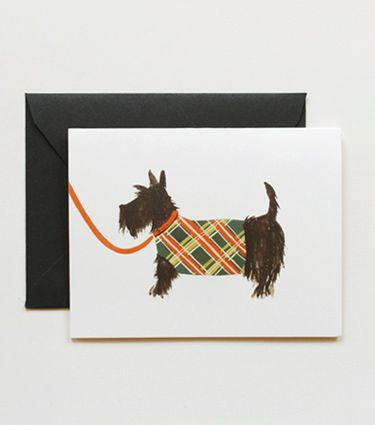 Scottish terrier by Rifle Paper Co.