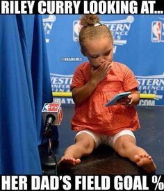 Even Riley Curry cannot believe it. #Warriors - http://nbafunnymeme.com/nba-memes/even-riley-curry-cannot-believe-it-warriors