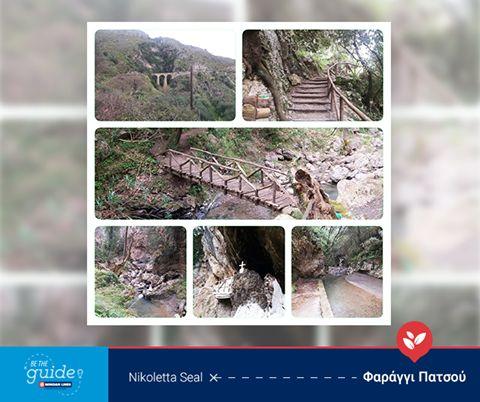 """Η """"guide"""" Nikoletta Seal Palivakou μας προτείνει να επισκεφθούμε το φαράγγι Πατσού ή Αγίου Αντωνίου, το οποίο βρίσκεται 8 χλμ. από τη Μονή Αρκαδίου.  Μπες κι εσύ στο www.betheguide.gr, ξενάγησέ μας στη δική σου Κρήτη και πάρε μέρος στις εβδομαδιαίες κληρώσεις για να κερδίσεις ένα ταξίδι με τη Minoan Lines!  #BeTheGuide This week's """"guide"""" Nikoletta Seal Palivakou suggests a visit to Patsos Gorge, which is also known as Agios Antonios Gorge and is located 8 km southwest of the Monastery of…"""