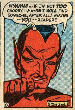 Naughty vintage devils
