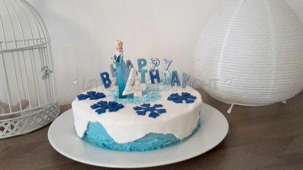 Tutoriel FACILE de gâteau d'anniversaire Reine des neiges !