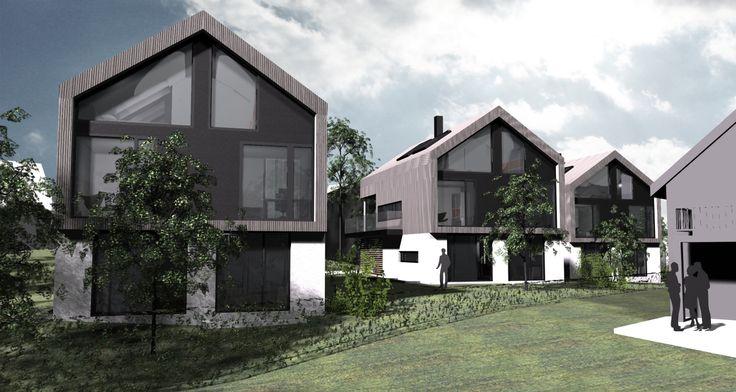 PAR13  - three houses_ facades