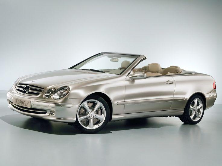 Mercedes-Benz CLK 320 CDI cabriolet.