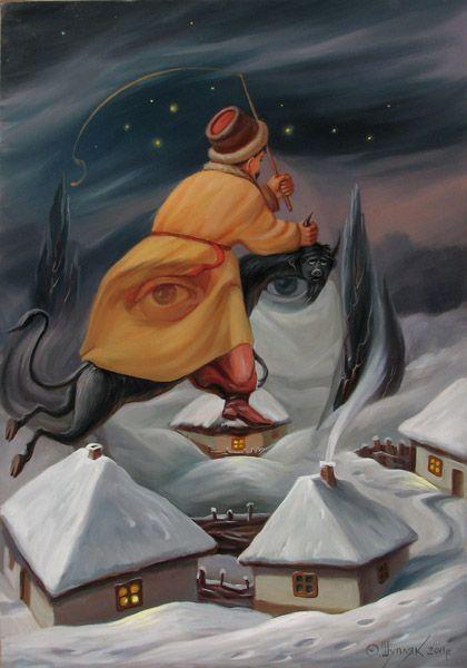 AdictaMente: Personajes famosos en pinturas de ilusion óptica