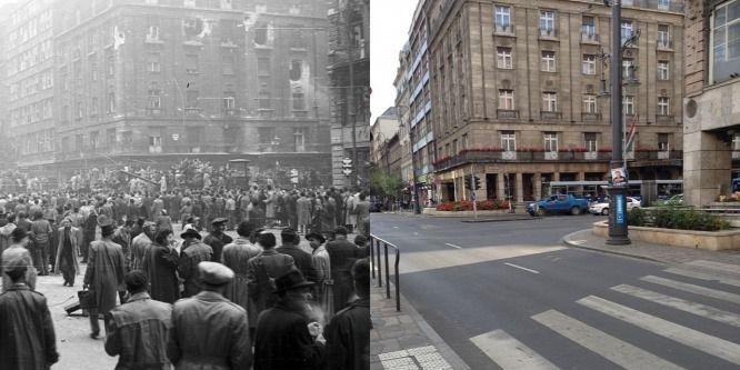 Tank jön villamos helyett a budapesti megállóba