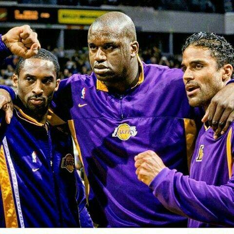 Kobe,  Shaq,and Rick Fox