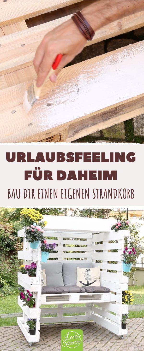 Please Take A Seat From 8 Euro Pallets You Can Make This Fantastic Fantastic Palletideas Pallets Europalette Paletten Garten Gartengestaltung Ideen