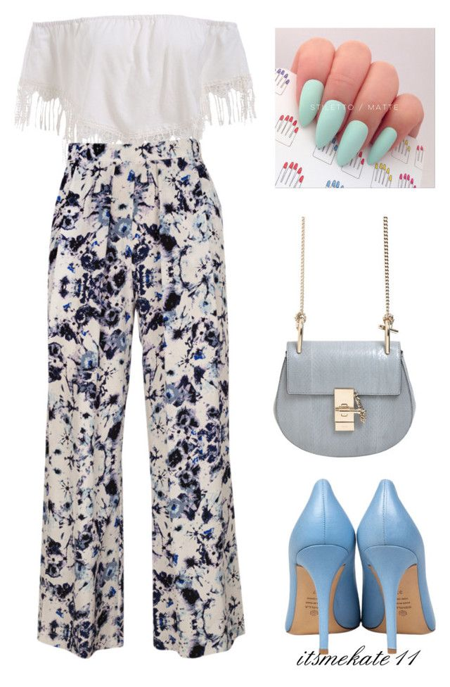 """""""outfit n.2"""" by itsmekate11 on Polyvore featuring Semilla, Piamita and Chloé"""