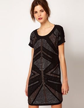 love this embellished dress from asos