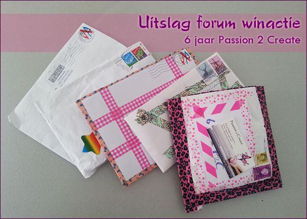 Uitslag: forum winactie i.v.m ons 6-jarig bestaan. Klik op de afbeelding om het blogartikel te lezen.