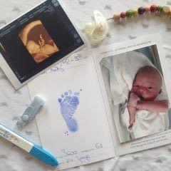 Ideen zum Sammeln und Aufbewahren von Erinnerungen an die Babyzeit #Erinnerungen #Sammeln #Shadowbox #Erinnerungsalbum #Baby Memory Quilt #Baby #Babyzeit