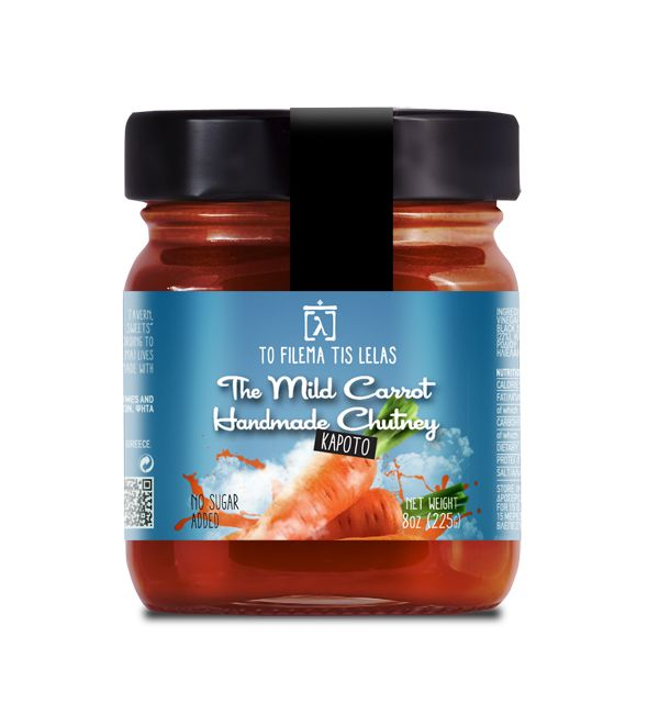 TO FILEMA TIS LELAS - HANDMADE CARROT CHUTNEY